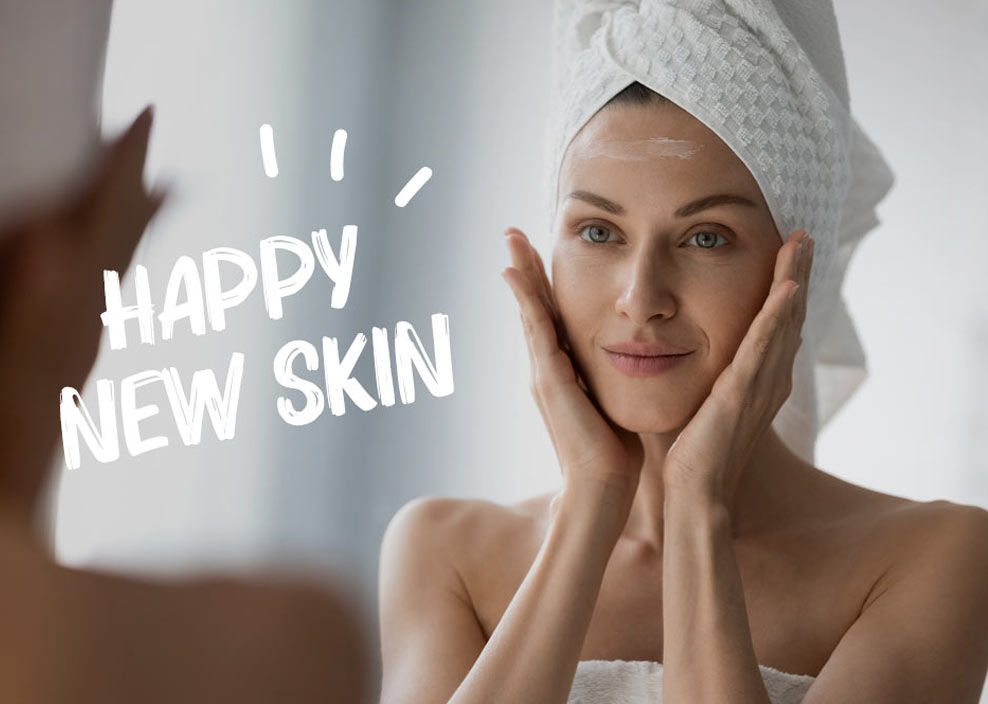 Happy New Skin